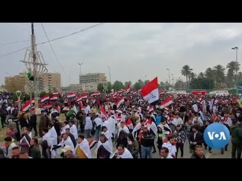 Thousands of Iraqis Call for US Troops to Leave, But Protests Smaller Than Planned