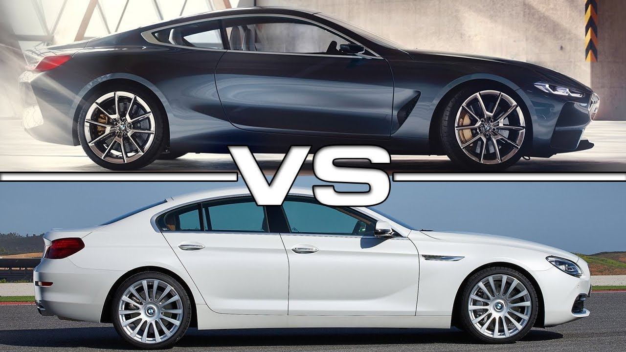 2018 Bmw 8 Series Vs 2016 6 Gran Coupe