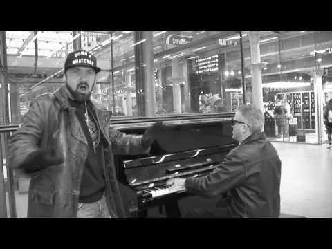 Two Londoners Waiting for Delayed Eurostar Train Improvise on Station Piano