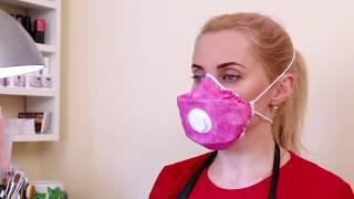 """Видеообзор маски респиратора для маникюра """"Standart Beauty"""""""