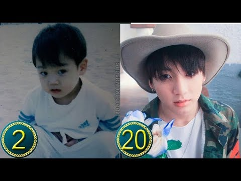 Bts Jeon Jungkook Predebut Transformation From 2 To 20 Years Old