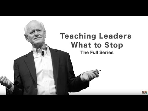 Teaching Leaders What to Stop - FULL SERIES