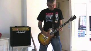 The Ramones - Why Is It Always This Way (guitar cover)