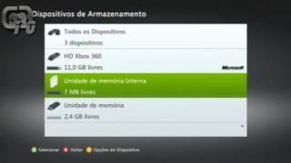 Tutorial - Transformando um PenDrive em Unidade de Memória do Xbox 360