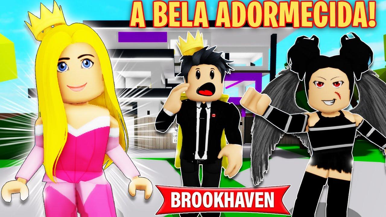 A BELA ADORMECIDA! BROOKHAVEN 🏡RP HISTORINHAS | Roblox