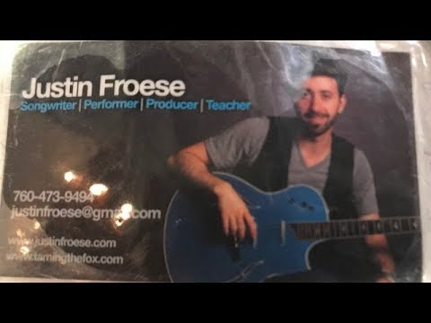Justin Froese at Whole Foods Market Flower Hill Mall Del Mar California
