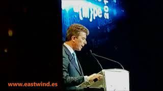 Premios AMPE 2018 .-  Alfonso Oriol Fabra Presidente de AMPE inaugura la gala