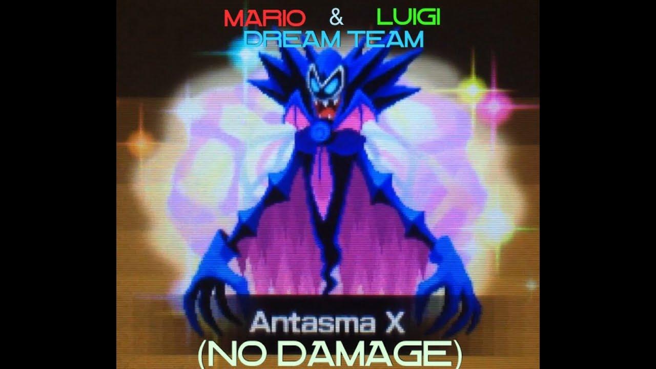 Mario Luigi Dream Team Battle Ring Boss 8 Antasma X No Damage
