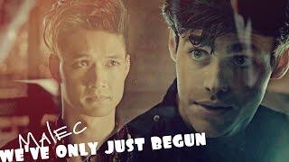 Alec & Magnus (Malec) |  we've only just begun