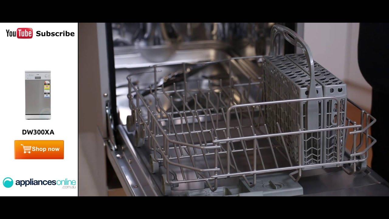 Slimline Kitchen Appliances Dw300xa Omega Slimline Dishwasher Reviewed By Expert Appliances
