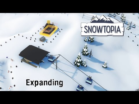 Snowtopia: Ski Resort Tycoon Lets Expanding To A New Area |