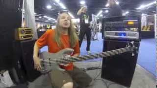 Guitar Porn NAMM 2014 40 Scale Sub Bass Knuckle Guitar Works Quake