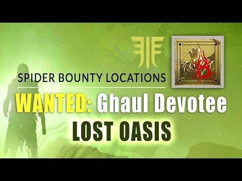 GHAUL DEVOTEE Bounty Location in