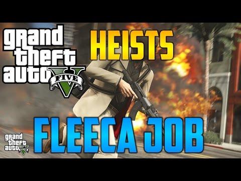 GTA V Heists - Fleeca Job | Setup & Heist Finale w/ Jrboll!