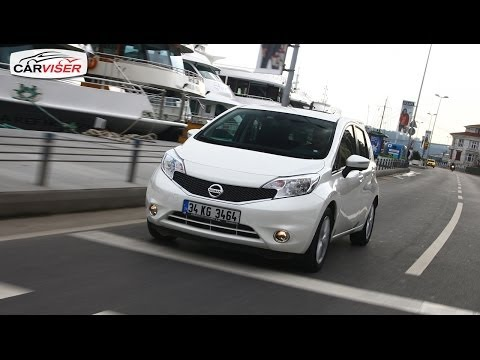 Nissan Note Test Sr Review English subtitled