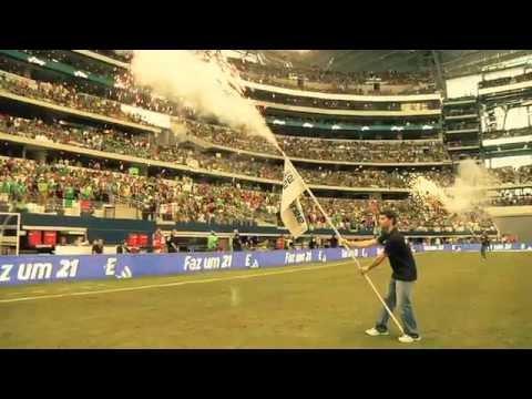 ¡Nuevo récord mundial de la ola mexicana en el partido México vs. Brasil!