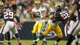 """Green Bay at Houston """"Rodgers' First 6 TD Game"""" (2012 Week 6) Green Bay's Greatest Games"""