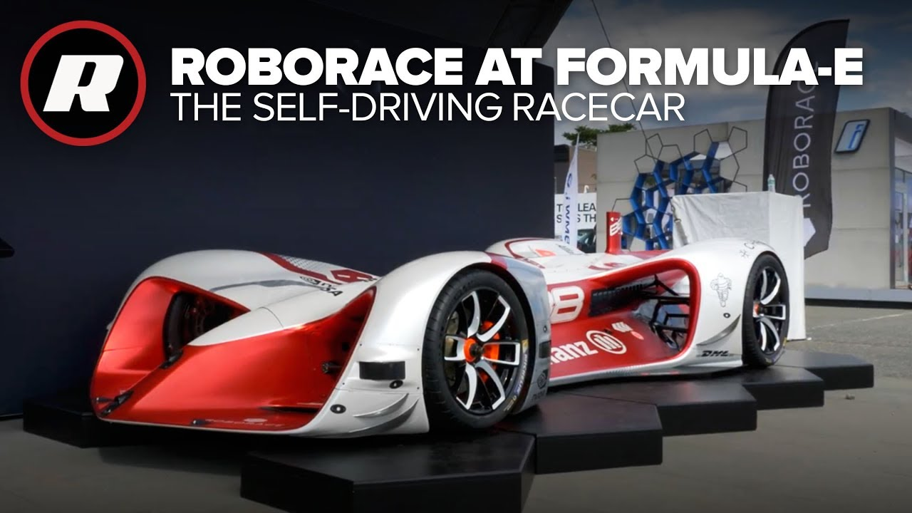 Roborace Is The Autonomous Racing Series Nobody Asked For