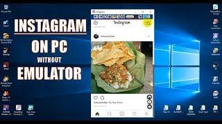 Gambar cover Cara Instal Instagram di PC tanpa Emulator [100% Working]