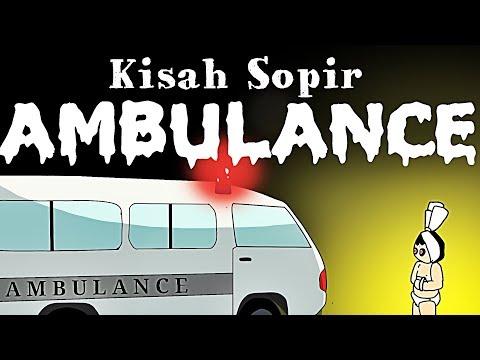 Kartun Lucu - Kisah Supir Ambulance - Wowo dan teman teman - Animasi Hantu Lucu Indonesia