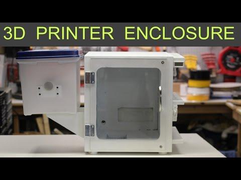 3D Printer Enclosure - Cheap Build Plans - MonoPrice Select Mini