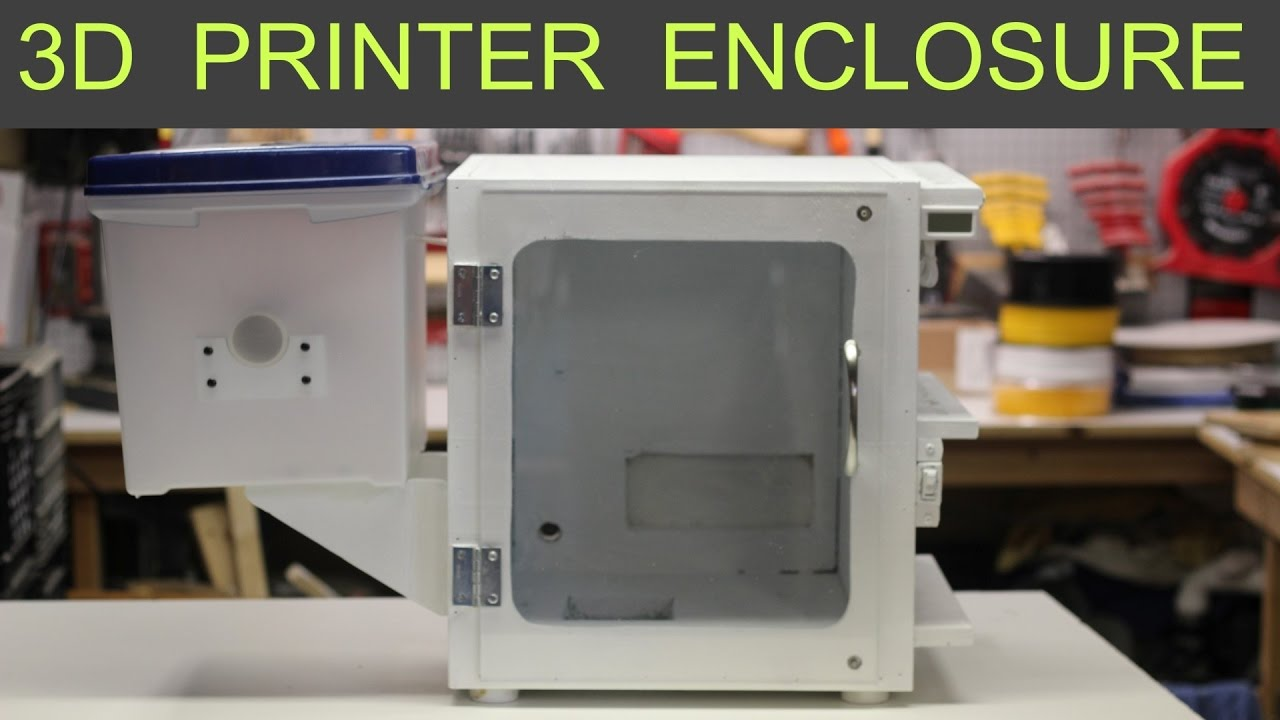 printer enclosure 3d mini monoprice select plans build cheap