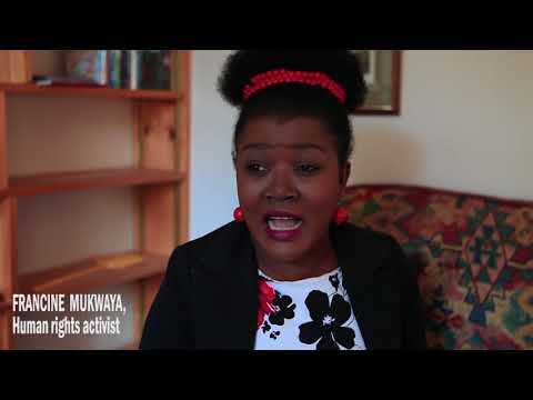 Monologue for two: Francine Mukwaya about genocide in Congo