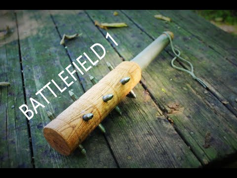 Making the BATTLEFIELD 1 Trench Club