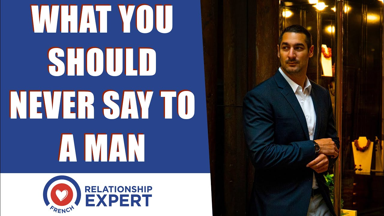What you should NEVER say to a man if you want him to commit!