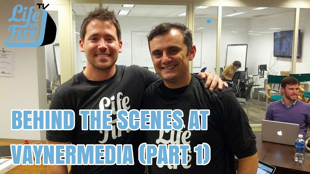 Live With Gary Vaynerchuk - Behind the Scenes at VaynerMedia (Part ...