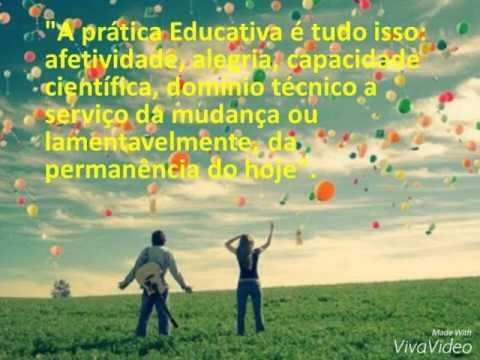Pedagogia Da Autonomia Frases Paulo Freire Youtube