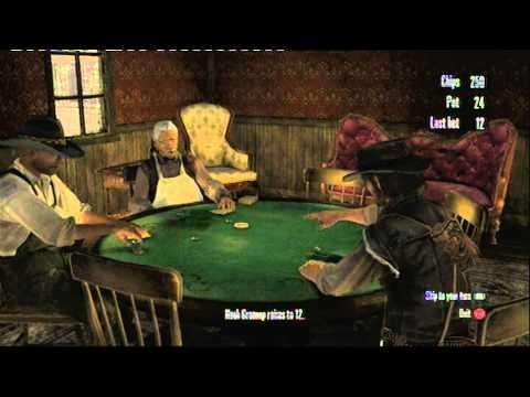 Red dead redemption poker bug