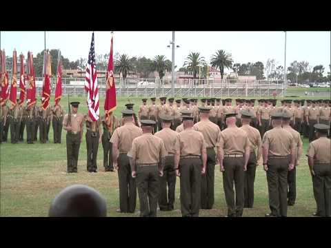 1st Marine Division Battle Streamers Rededication August 2012