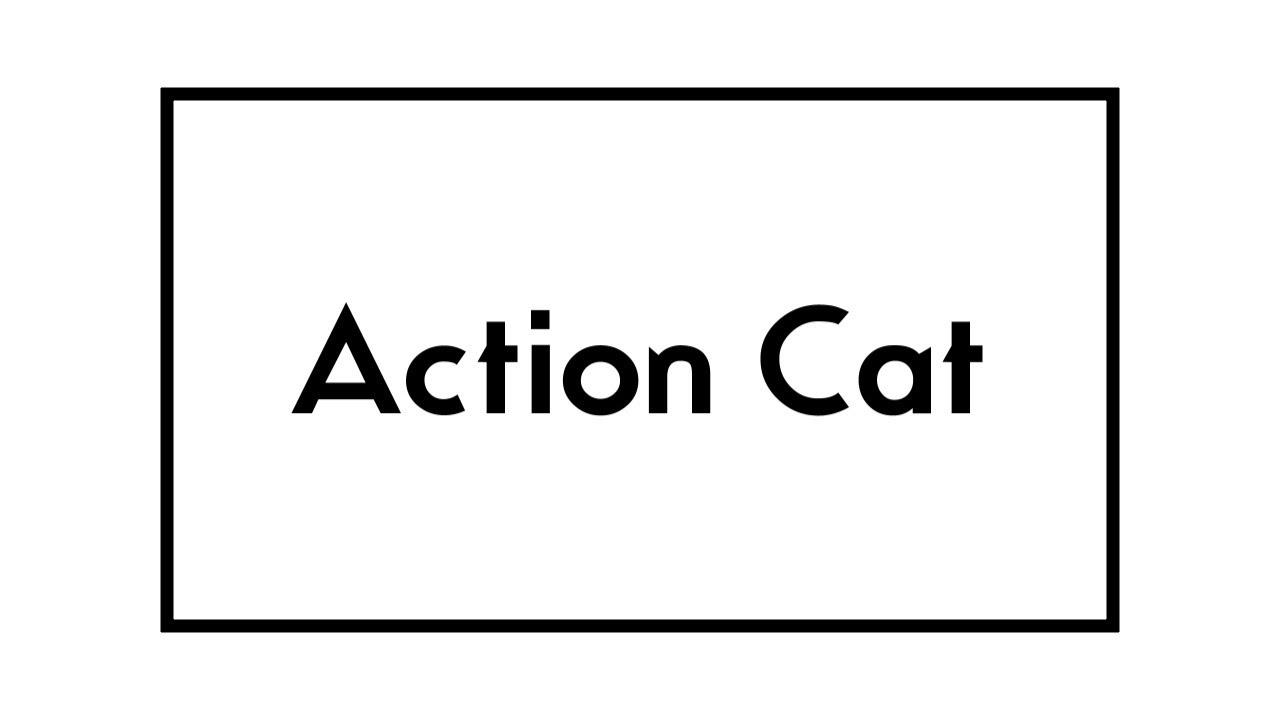 u0026quot action cat u0026quot  - gerard way - lyric video