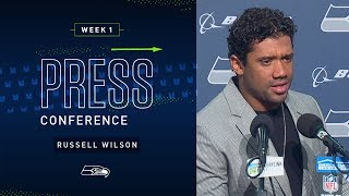 Russell Wilson Postgame Press Conference vs Bengals | 2019 Seattle Seahawks