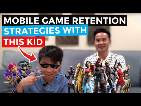 Mobile Game Retention With My 11-Year-Old Son