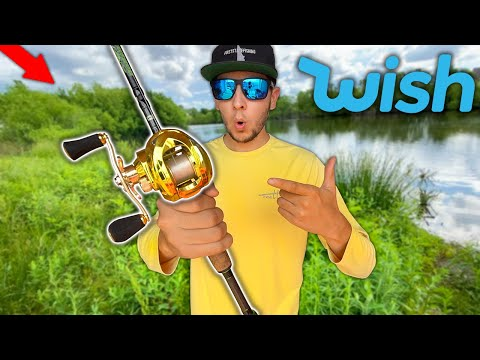 The CHEAPEST Fishing Reel On WISH!! (Fishing Challenge)