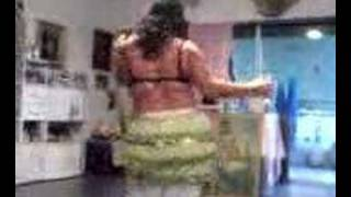 zaklin kone : my 2nd  HOME PRACTICE belly dance-in athens-after a serious knee accident 2008