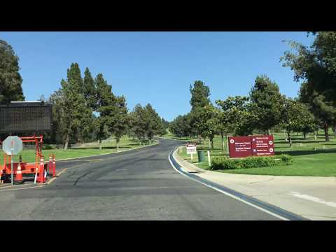Driving in Rose Hills Memorial Park - Gate 1