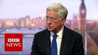 Michael Fallon:  'We do not have to agree with DUP views'  BBC News