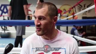 """SERGEY KOVALEV """"I BELIEVE LOMACHENKO WILL TKO RIGONDEAUX...LATE ROUNDS!"""""""
