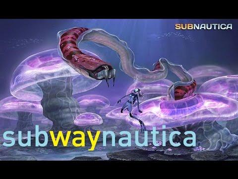 Subnautica Part 4: the Current Generator subway system