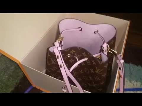 louis vuitton neo noe bag review youtube. Black Bedroom Furniture Sets. Home Design Ideas