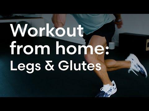 Workout at home with Magnus Lygdbäck