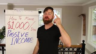 Earn Passive income $$1000$$/day