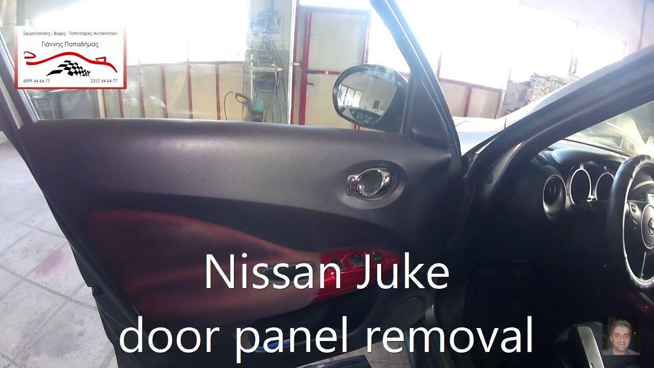 medium resolution of nissan juke door panel removal