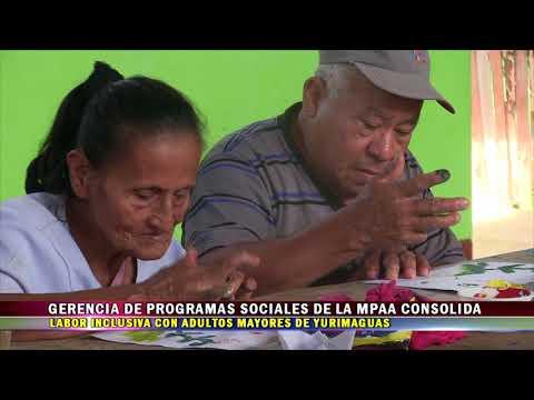 GERENCIA DE PROGRAMAS SOCIALES DE LA MPAA CONSOLIDA LABOR INCLUSIVA CON ADULTOS MAYORES DE Y