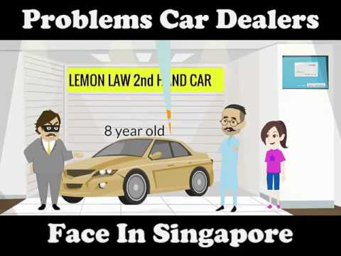 Singapore Car Dealer's Problems