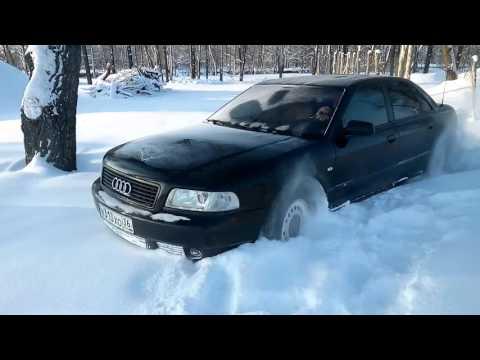 Audi А8 Quattro в снегу