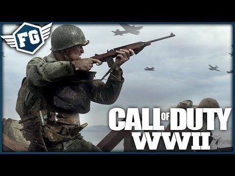 Call of Duty: WWII - Single Player | Vylodění V Normandii